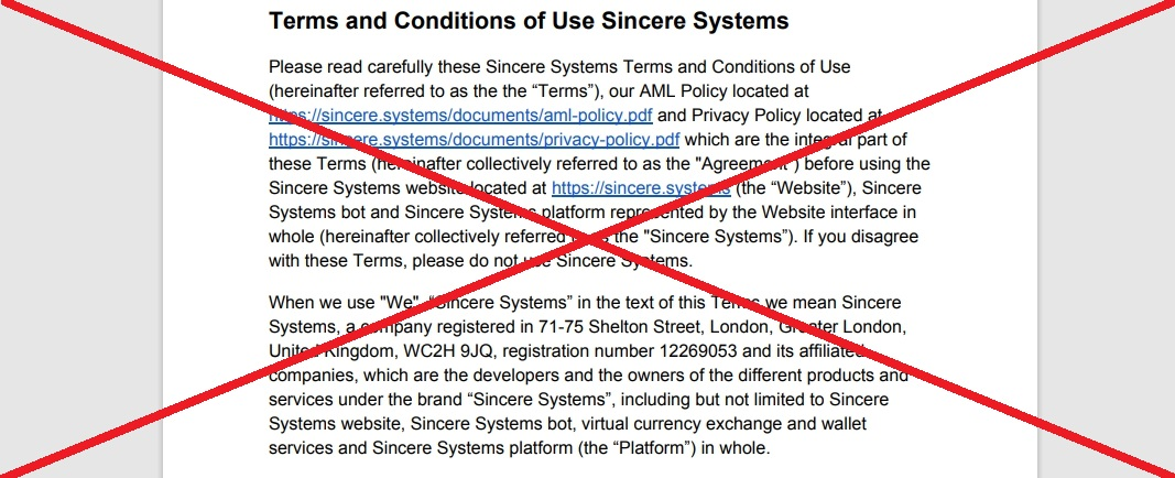 Sincere Systems Group - отзывы о s-group.io